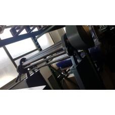 CALANDRA usata MECCANICA MANUALE A 3 RULLI SUPERIORE DA 60mm, HYLLUS DA 1000x1,5MM2