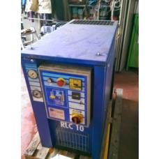 COMPRESSORE usato A VITE CECCATO 10 HP 7,5 KW, 10 BAR, CON GRUPPO ASPIRAZIONE NUOVO (VITE NUOVA)