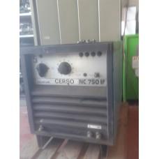 SALDATRICE PER ARCO SOMMERSO usata ELETTRONICA DA 750A, NUOVA CERSO NC 750