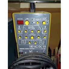 SALDATRICE A TIG usata INVERTER AC/DC da 180A, ESAB , 220V
