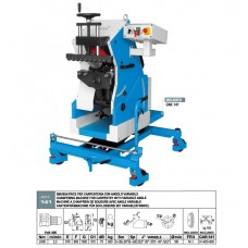 SMUSSATRICE AUTOMATICA ACETI ART 141 ANG VARIABILE SPESS MIN 6 MAX 60 SMUSSO MAX 30